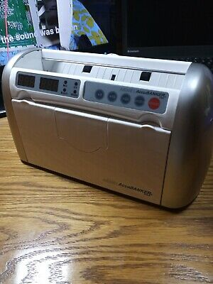 Accubanker Ab300 Digital Bill Counter With Power Cord - Used