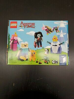 Lego Adventure Time 21308 Set Ideas Cartoon Network 495 pcs New Rare