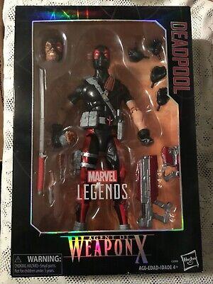 Marvel Legends Deadpool Agent Of Weapon X 12 Inch Gamestop Exclusive