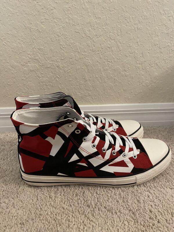 Eddie Van Halen One of A Kind Converse Sneakers Men's Size 13.5 NEW