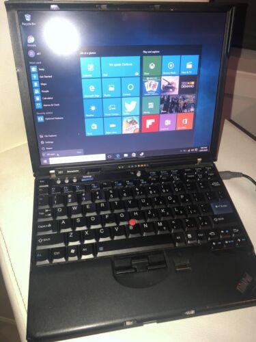 Laptop Windows - IBM Thinkpad x61 Laptop INTEL Core2Duo 2 Ghz CPU 3GB RAM Windows 10 Pro Notebook