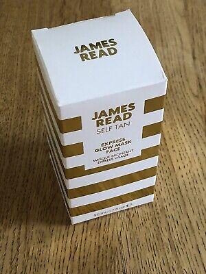 James Read Express 30 Minute Self Tan Glow Mask Face 50ml