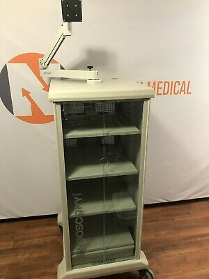 Stryker Video Trolley Endoscopy Tower Cart 240-099-011 Free Shipping