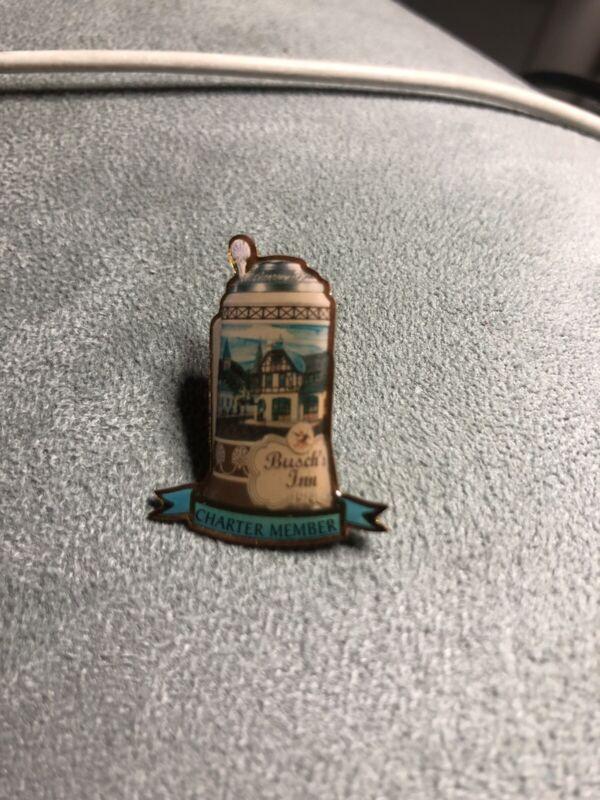 Anheuser Busch inn charter member lapel Hat pin
