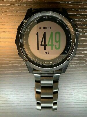 Garmin Fenix 3 HR Multi-sport Training GPS Watch - Titanium black