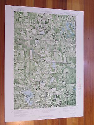 Gully NW Minnesota 1976 Original Vintage USGS Topo Map