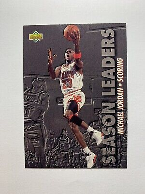 1993-94 Upper Deck Scoring Leaders Michael Jordan #166