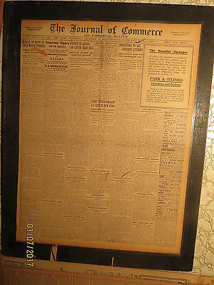 Titanic Ship Newspaper 1912 Army Inspectors Lifeboats   Suit In Court