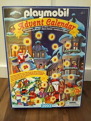 Playmobil 3993 Christmas Advent Calendar New Sealed Complete