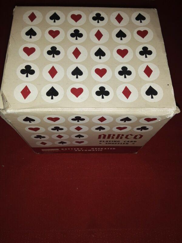Vintage Arrco Playing Card Shuffler
