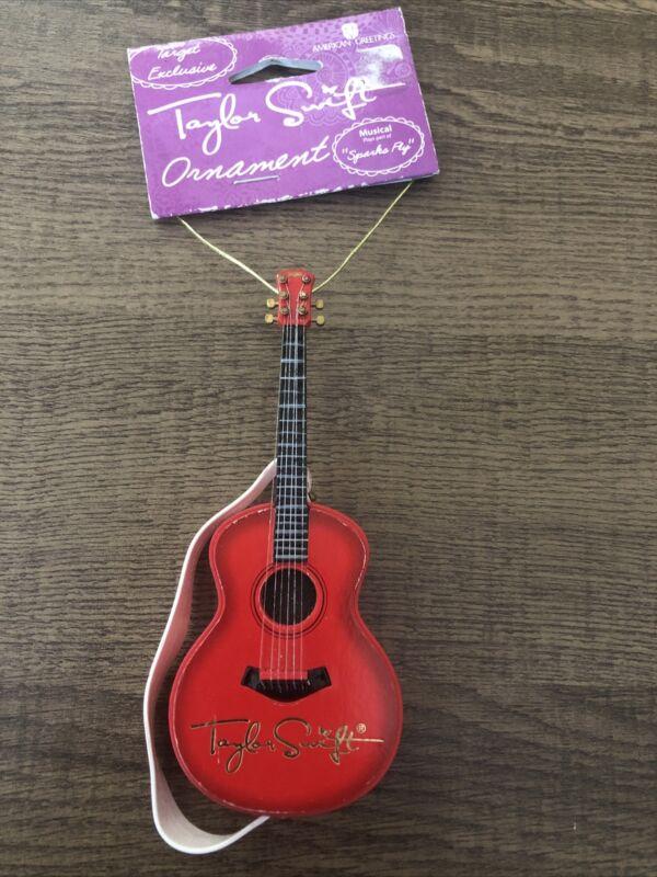 Rare Taylor Swift Target Exclusive Guitar Ornament. Needs Batteries.