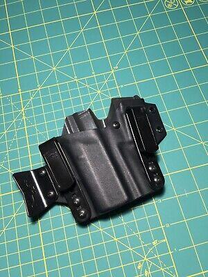 T.Rex Arms Sidecar, Glock 43X 43, black & grey AIWB holster