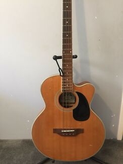 Acoustic electric bass Yanchep Wanneroo Area Preview