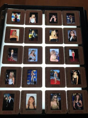 Original 20 35mm Slide Lot Mariah Carey VINTAGE RARE!
