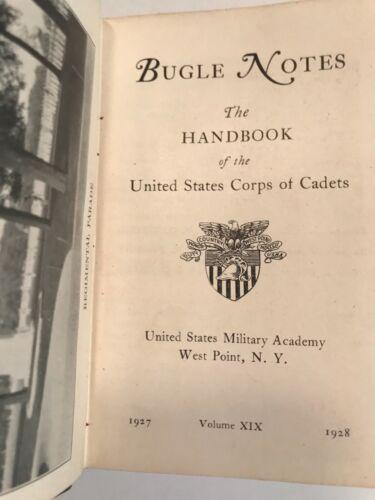 USMA West Point Military Academy Bugle Notes 1927-1928 Cadet Book Volume XIX