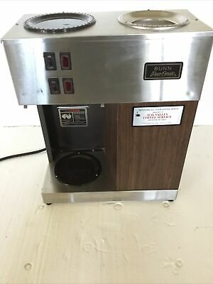 Vintage Bunn Pour-omatic Commercial Coffee Maker Pour Over Brewer Warmer Vpr