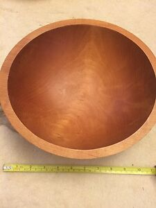 2 Wooden Bowls
