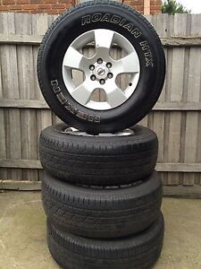 NISSAN NAVARA WHEELS AND TYRES 255/70 r16 Meadow Heights Hume Area Preview