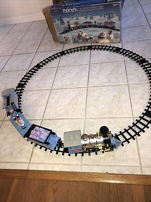 Rudolph Nose Express Train Set Xmas Tree Reindeer Island Misfit Toys Railroad