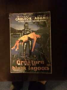 Creature from Black Lagoon tin poster