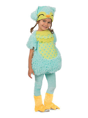 Night Owl Princess Paradise Costume Blue Baby Toddler 6 9 12 18 24 months 2T - Toddler Owl Costume