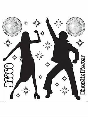 Disco Party Supplies Decorations Insta Theme Add On Disco Dancers Props - Disco Theme