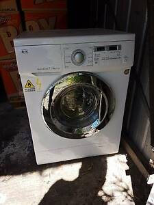 LG 7kg Front Load Washer Dryer Page Belconnen Area Preview