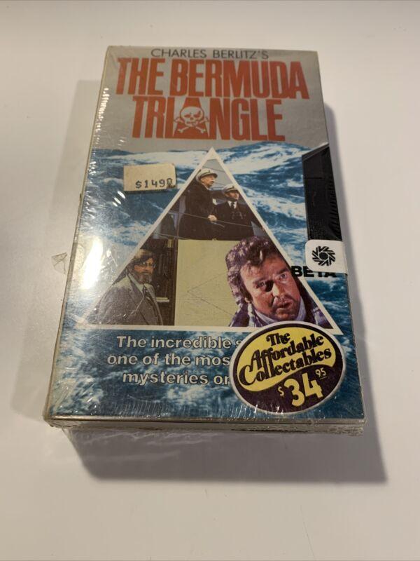 Bermuda Triangle Charles Berlitz Vidamerica Betamax NOT VHS Rare