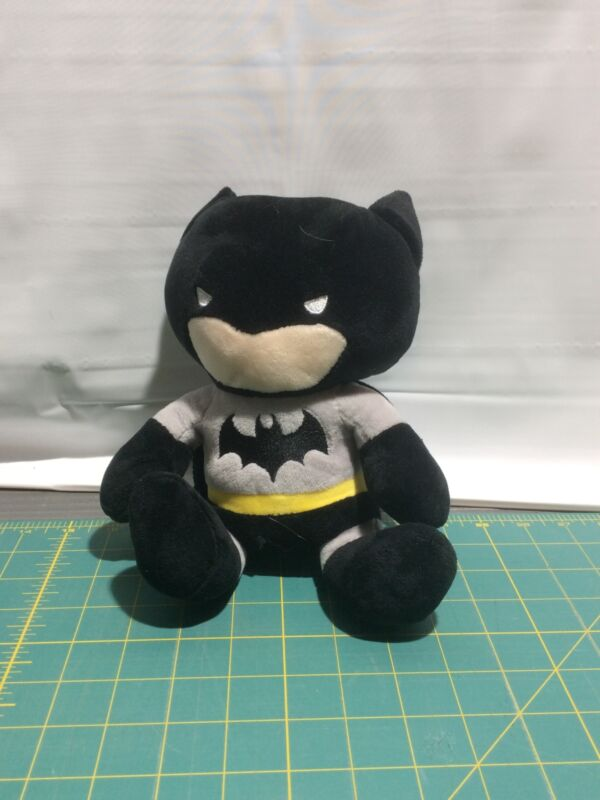 Batman Plush Piggy Bank Coin Container Justice League Superhero