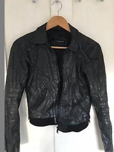 Leather TopShop Women's Jacket - $50 Bondi Beach Eastern Suburbs Preview