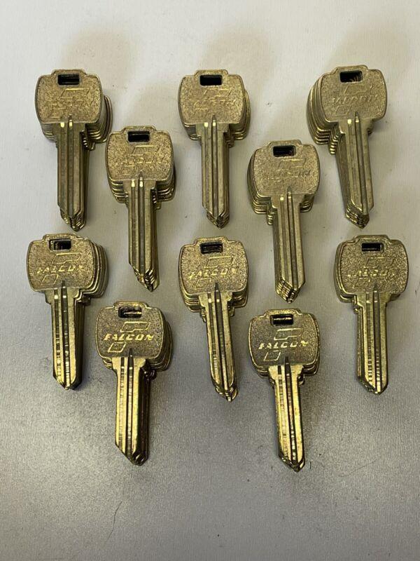 100 Falcon (G) Brass Key Blanks,Locksmith