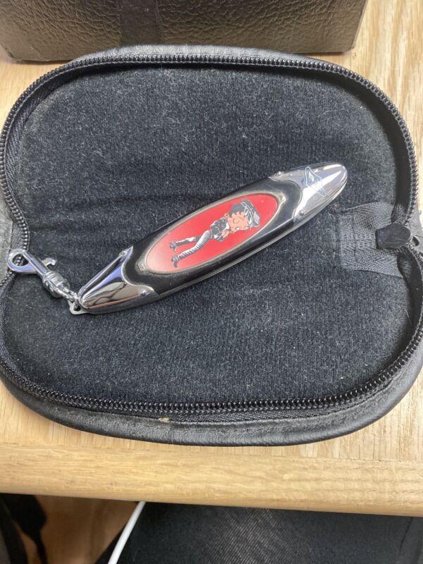 Vintage Franklin Mint Betty Boop Pocket Knife & Case