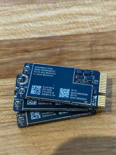 Apple MacBook Air A1465 11 2013 Airport Wifi Bluetooth Card BCM94360CS2 653-0020