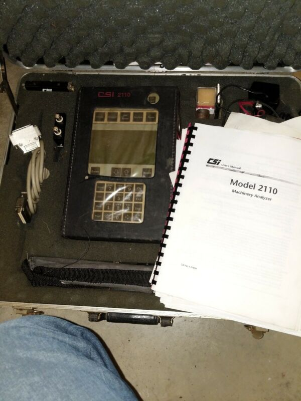 Csi Machinery Analyzer Model 2110