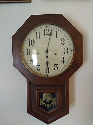 Hamilton West Mister Chime 8 day  Wall Clock