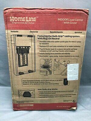 Hom2040m100pqcvp Square D 100-amp 20-spaces 40-circuit Main Breaker Load Center