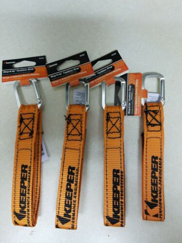 4 Keeper Wrap-It-Up ORANGE BUNDLING STRAP UV Resist Waterpro