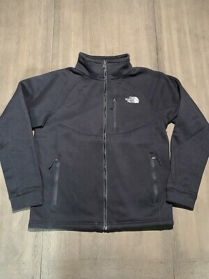 Men's THE NORTH FACE Full Zip BLACK JACKET COAT Size SMALL EGUC