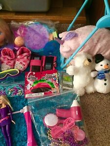 Girls Ultimate Toy Lot! Disney, Barbie, Princess & MORE!!
