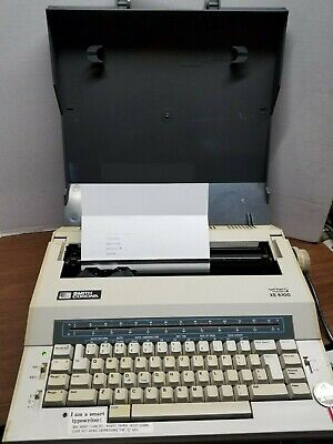 Smith Corona Spell Right Xe6100 Typewriter Word Processor - Working