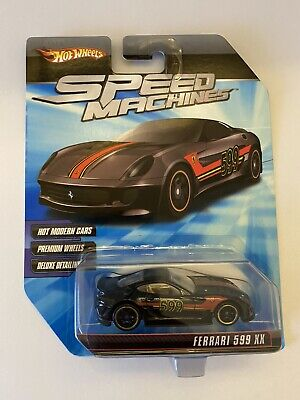 Hot Wheels Speed Machines Ferrari 599XX Black