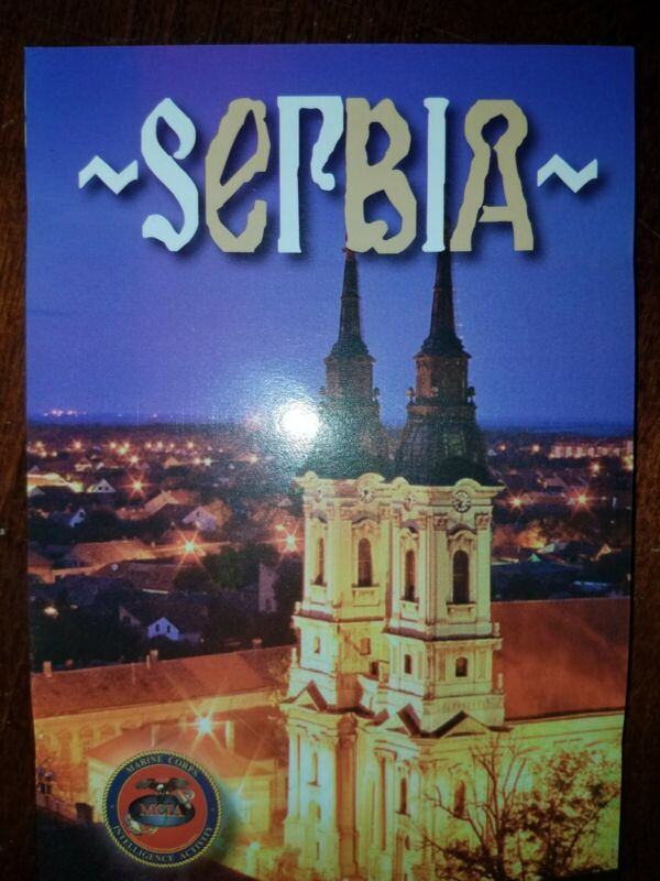 US Army USMC Serbia Cultural Smart Card