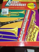 Alto Saxophone Book 2 * Accent on Achievement **with CD Daisy Hill Logan Area Preview