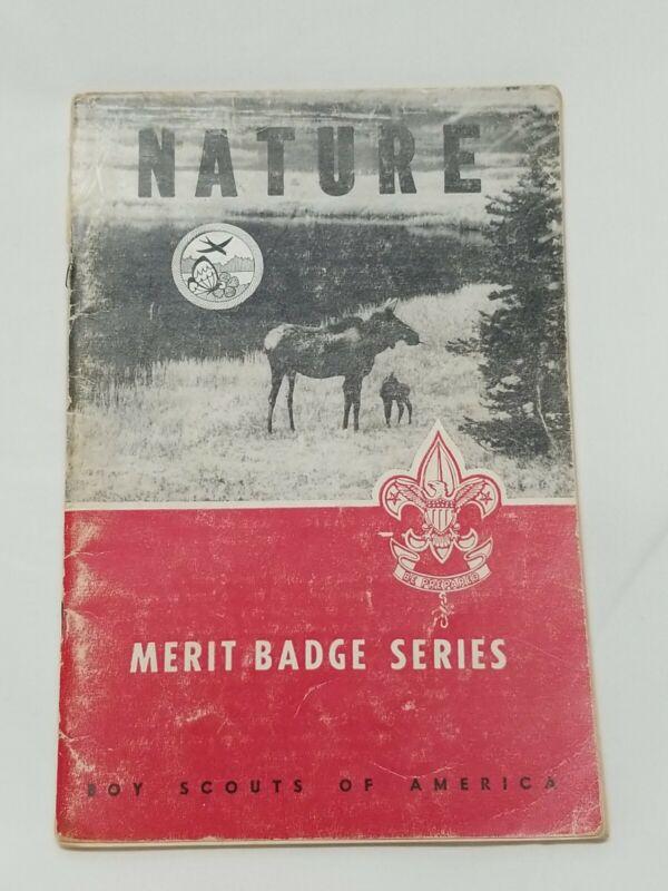 1952 Merit Badge BSA Series Boy Scouts NATURE