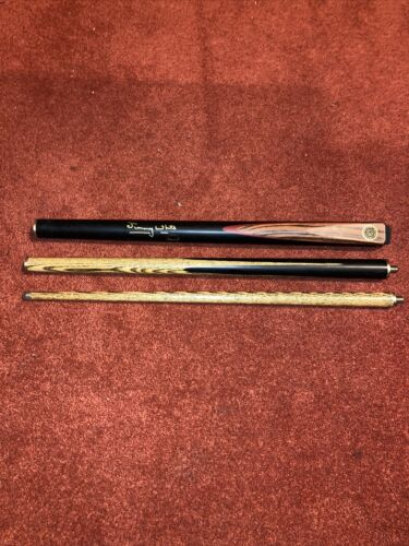 BCE custom cues 'jimmy white' junior 3 piece snooker/pool cue and case