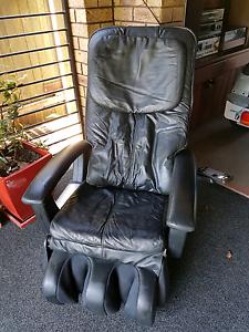 Electric Leather Massage chair Bonny Hills Port Macquarie City Preview