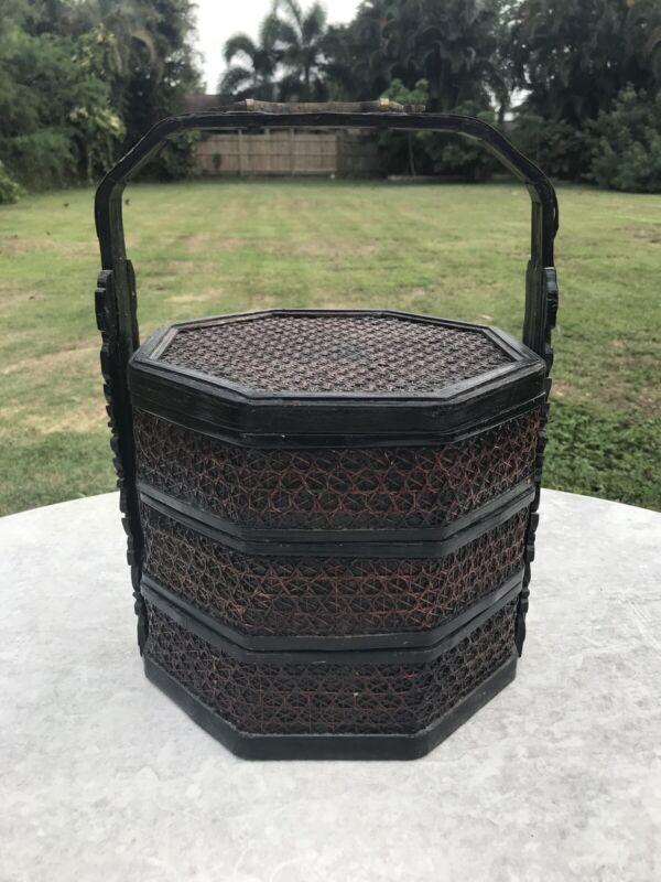 Beautiful Antique Chinese Wedding Basket