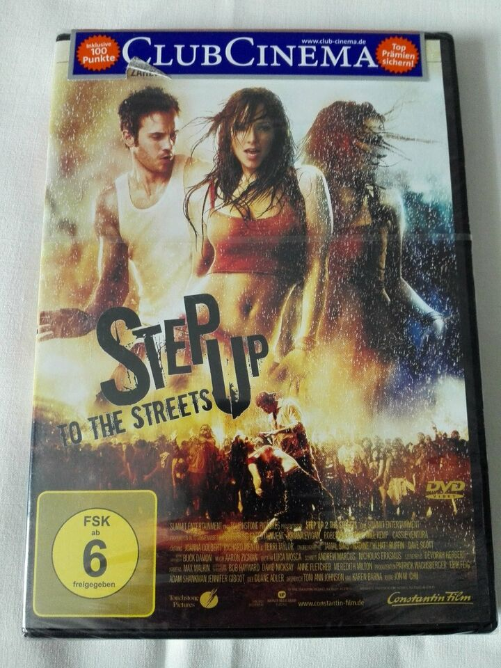 DVD Step Up To The Streets, NEU OVP, 98min,ab 6 Jahren in Berlin - Spandau