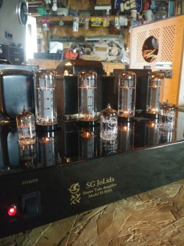 SG Jolida SJ 302a Tube amplifier 4 input Upgrade Mullard EL34 TUNG-SOL 12ax7