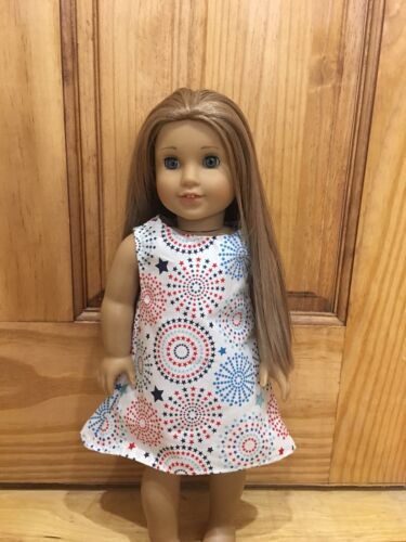 "Fits 18"" American girl Doll Clothes Patriotic Modern Summer"